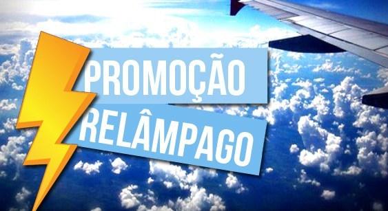 Promoção relâmpago de passagens - Promoção Voos Passagens de Pro..