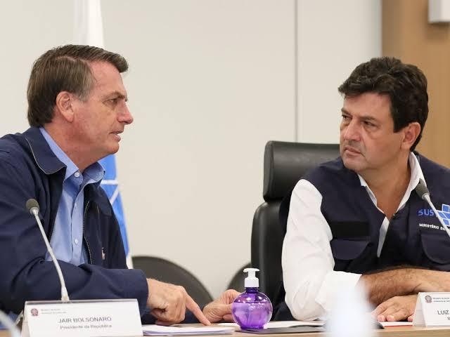 Objetivo do Mandetta era 'vender pavor' diz Bolsonaro - Protagonews