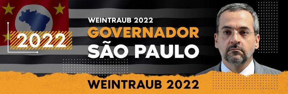 AWeintraub Governador de São Paulo 2022 Cover Image