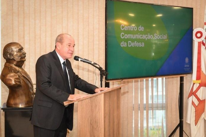 Ministério da Defesa inaugura Centro de Comunicação da Defesa - Pátria Digital