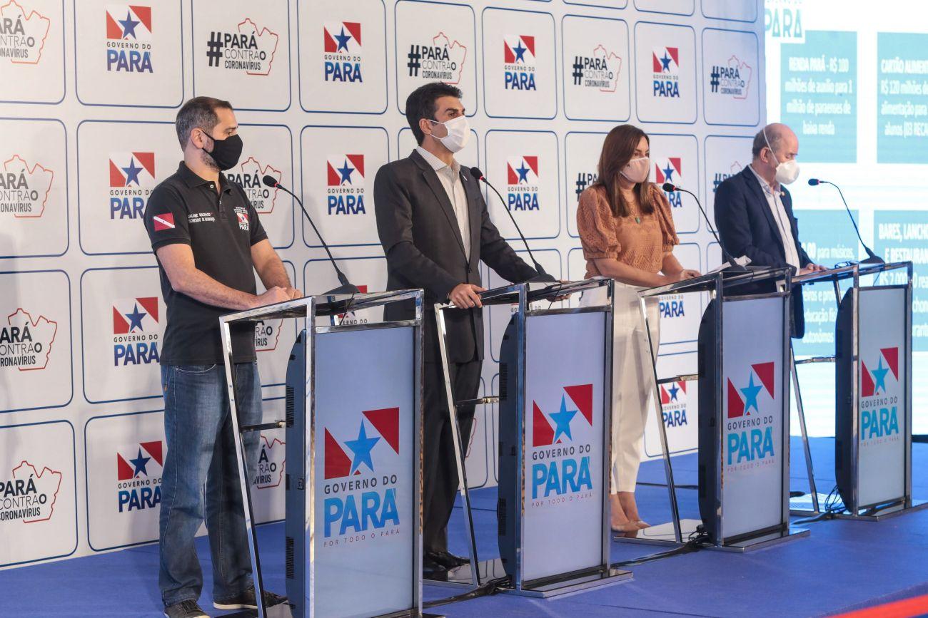 Governo do Pará : estabelece auxilio de R$ 2 mil
