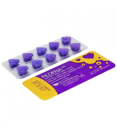 Fildena 100® (Sildenafil), Cheap Fildena 100 Upto 15% off,Side Effects, Review