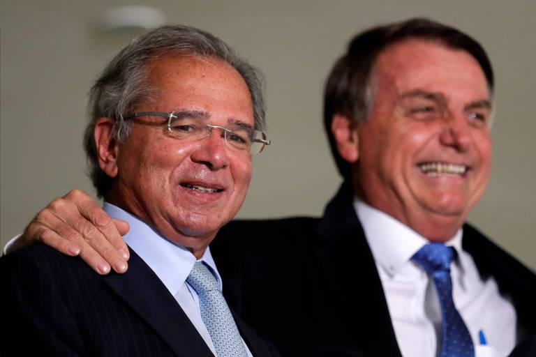 Bolsonaro e Guedes cobram apoio do Senado a ações do governo - Pátria Digital
